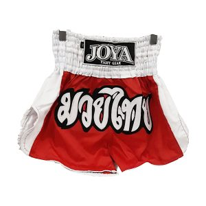 Kick Boxing - MMA Shorts - Άσπρο - Κόκκινο