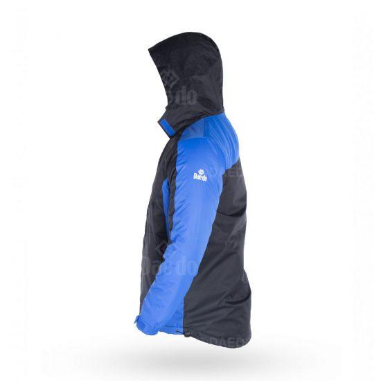 Padding Jacket - Black/Blue