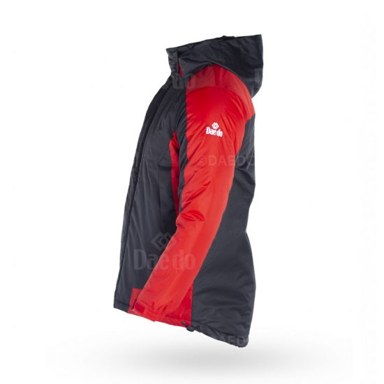 Padding Jacket - Black/Red